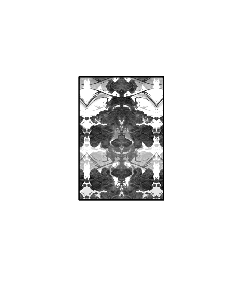 Chopin's Wallpaper B (Blanc + Noir)