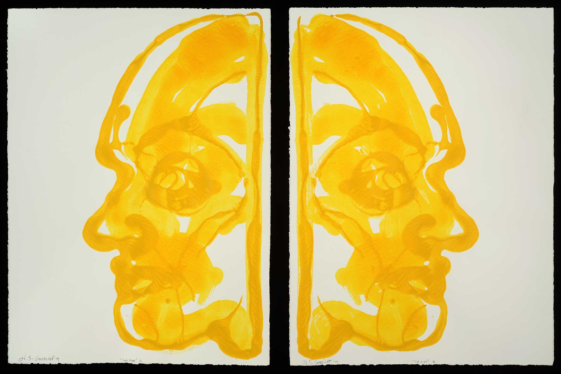 Inverted Double Portrait