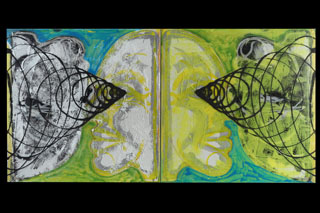 Double Inverted Portrait (Belief In Nothingness Is Neither Anarchy Nor Everything)