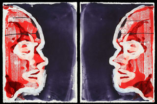 Inverted Double Portrait (Night Visions)