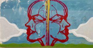 Double Portrait (Oceansong, Ectoplasm, and The Last Cigarette)