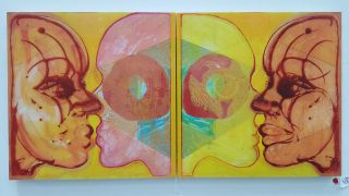 Inverted Double Portrait #3 (Sublime Erotic Geometry)